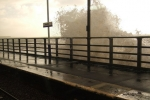 Breaking Wave on Platform